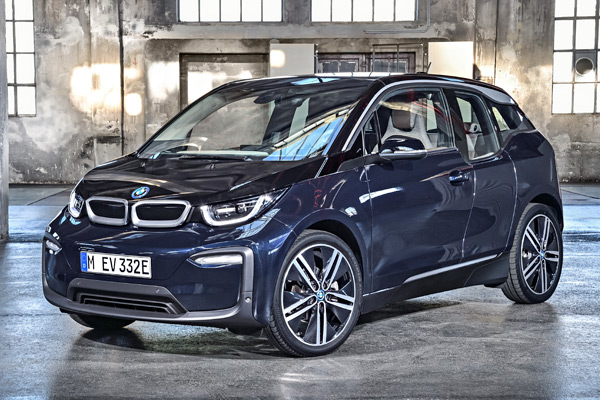 A 2018 BMW i3 electric car, starting at $44,450. BMW is offering a $10,000 rebate to customers of NJ utility PSE&G through April.