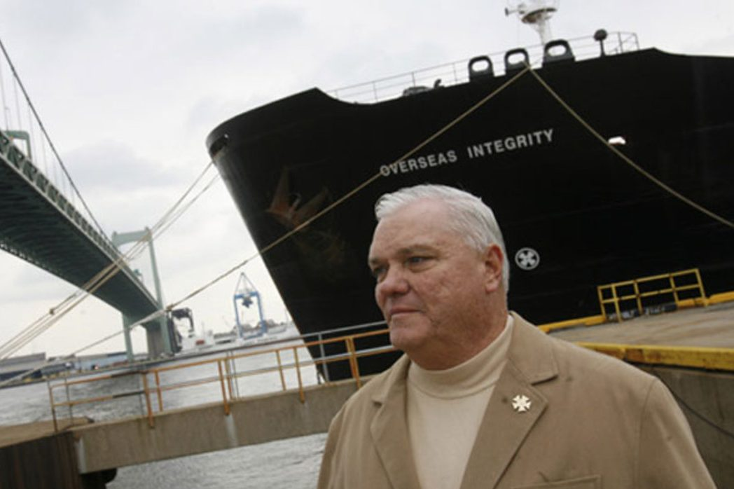 State Rep. Bill Keller is pictured at the Packer Marine Terminal in November 2008.