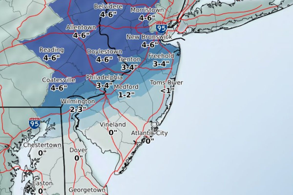 Snow will fall until midnight, but record-breaking warmth could be on the way