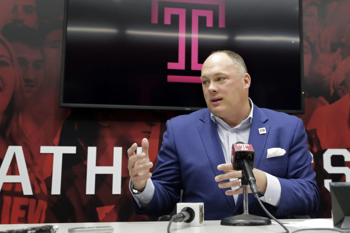 Temple coach Geoff Collins brought in a new outside linebackers coach on Sunday.