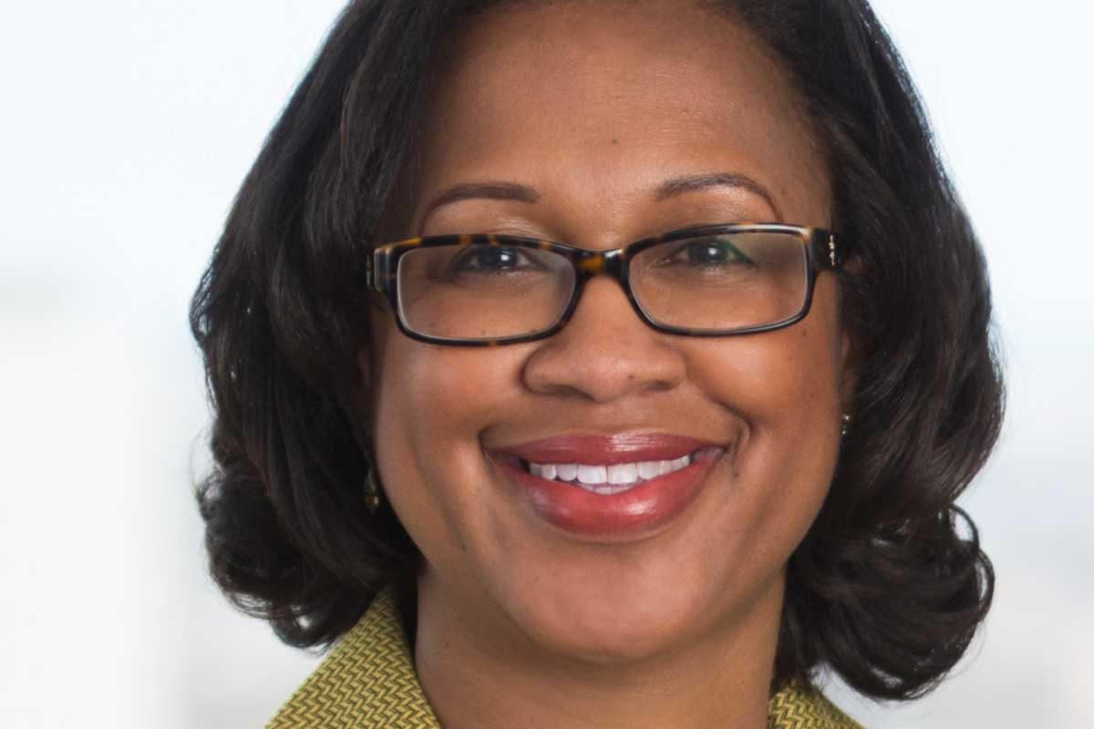 Maria Lewis, a litigator at Drinker Biddle who is also the staff career counselor.