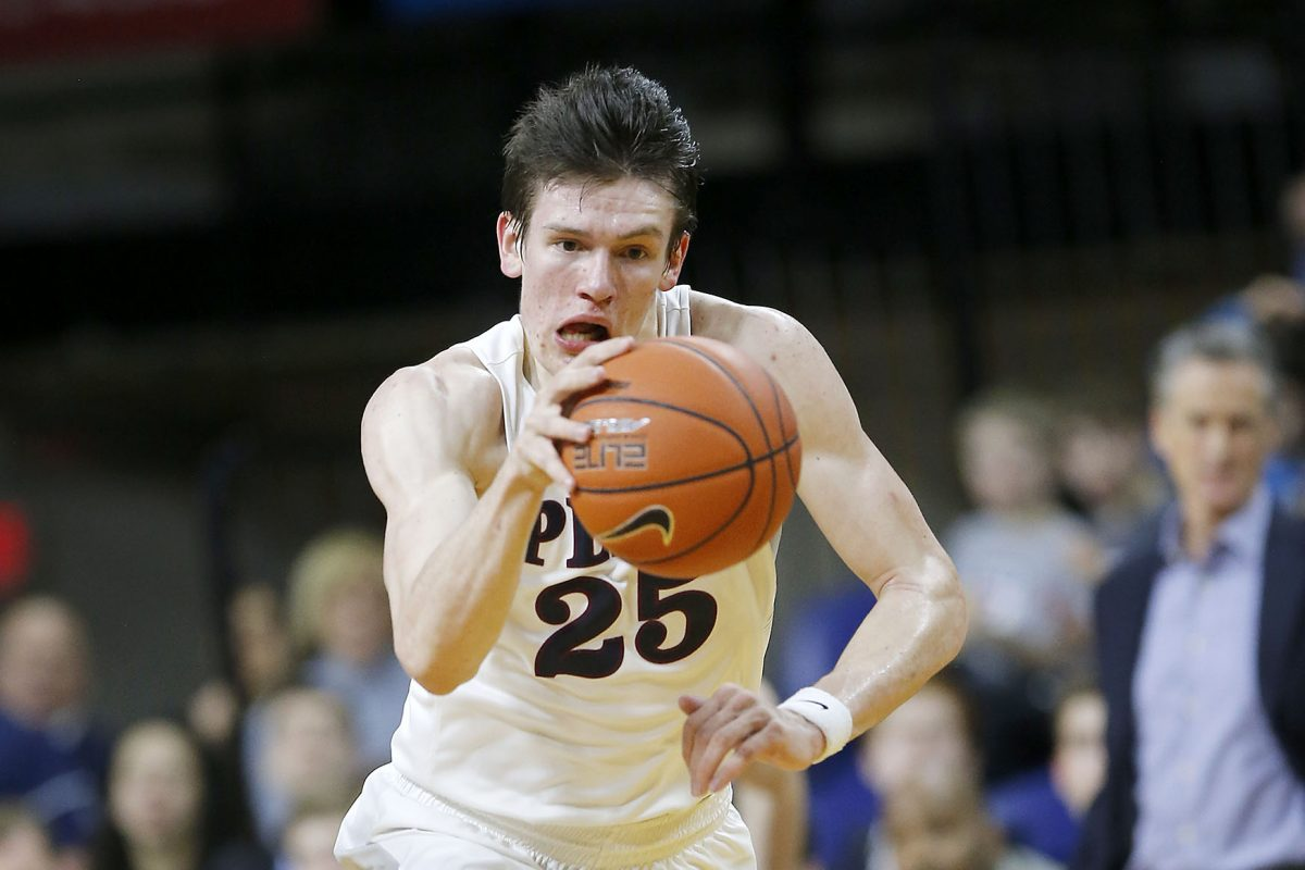 Penn's AJ Brodeur averaged 17.5 points and 5.0 rebounds while shooting 15 for 20 from the field in wins at Columbia and Cornell that clinched the Quakers one of the four berths in the Ivy League playoffs.