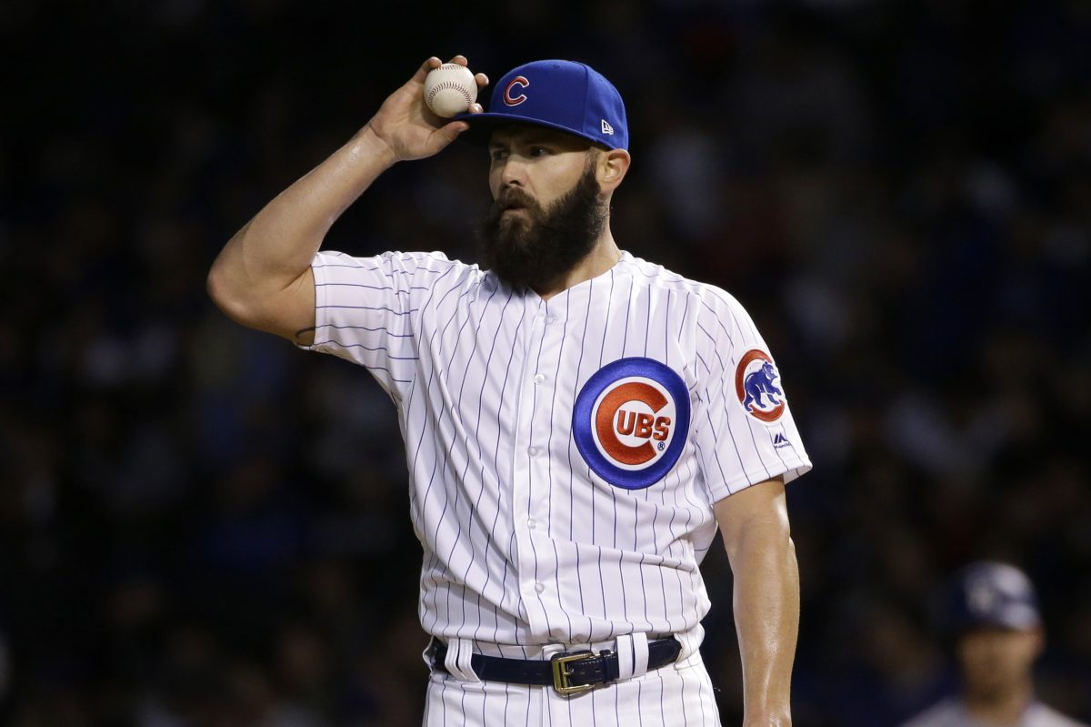 Jake Arrieta remains a free agent with spring training having started.