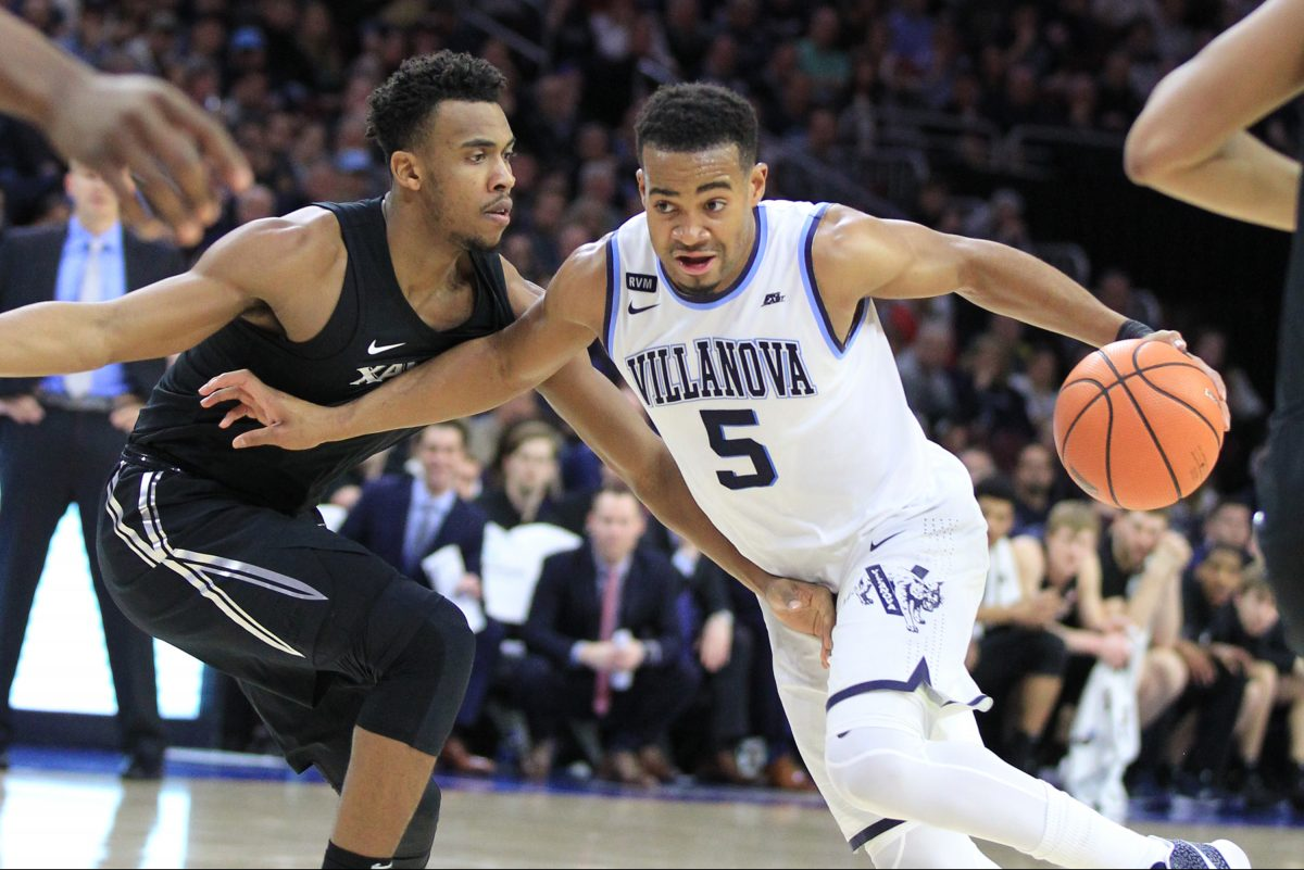 Been a while since Phil Booth has taken a defender to the hoop. He'll return to the lineup for the first time in a month when Villanova hosts DePaul.