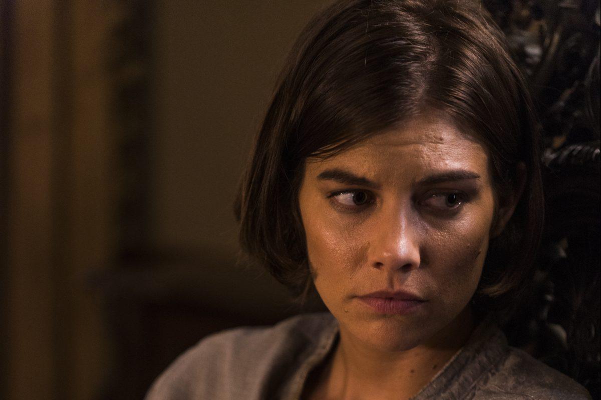 Lauren Cohan as Maggie Greene on AMC's The Walking Dead