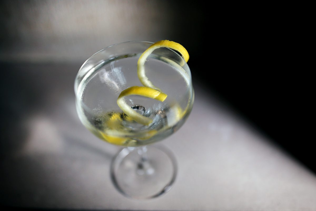 A classic martini at Vernick.
