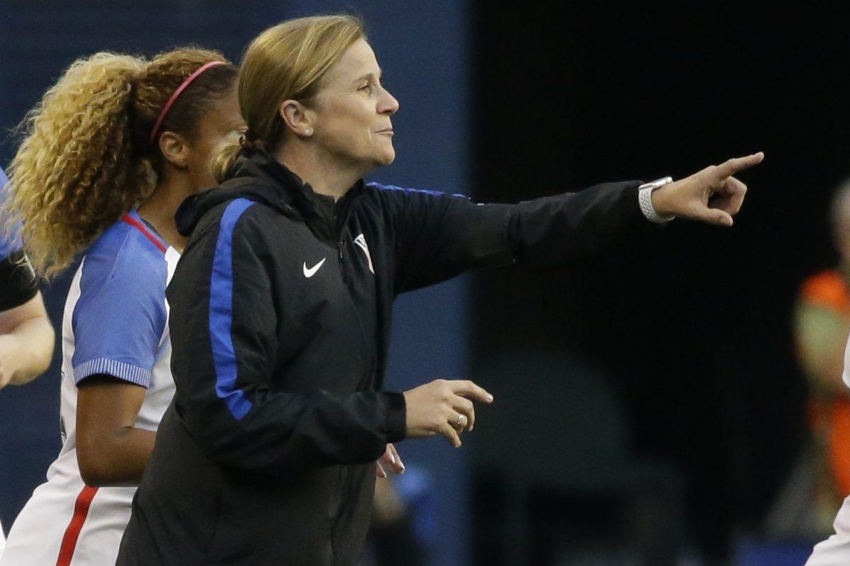 United States women´s national soccer team head coach Jill Ellis.