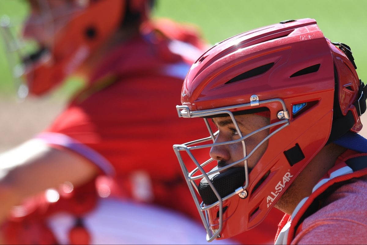 Phillies catcher, Andrew Knapp will bat leadoff today against the University of Tampa.