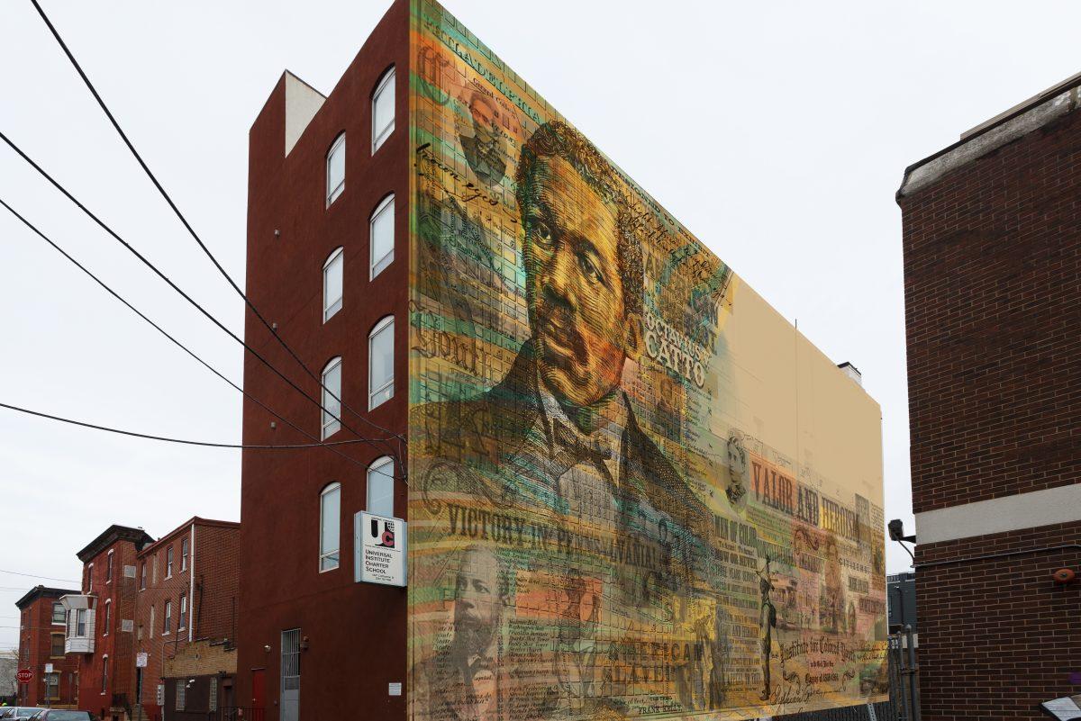 New Octavius Catto mural headed for South Philadelphia