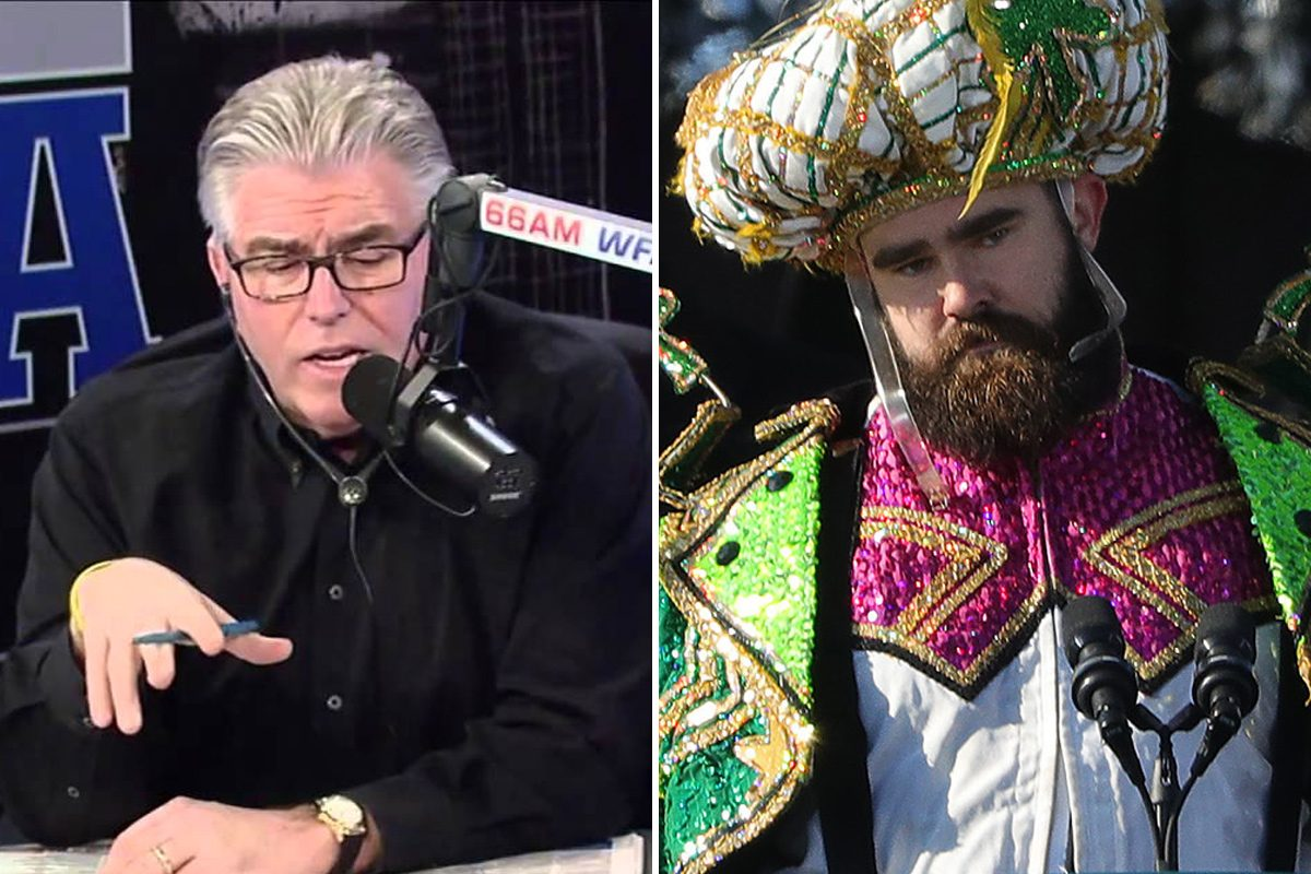 Mike Francesa Jason Kelce