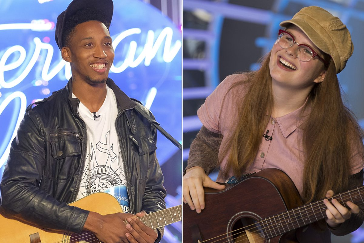Philadelphia's Dennis Lorenzo and Langhorne's Catie Turner will appear on the season premiere of the new season of 'American Idol' on ABC next month.