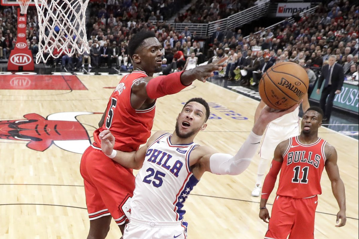 Ben Simmons did whatever he wanted against the Chicago Bulls´ defense in the Philadelphia 76ers´ win.