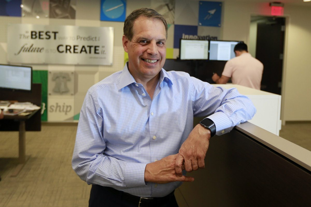 Stephen Zarrilli is president and chief executive of Safeguard Scientifics, which laid off around half of its staff in early January.