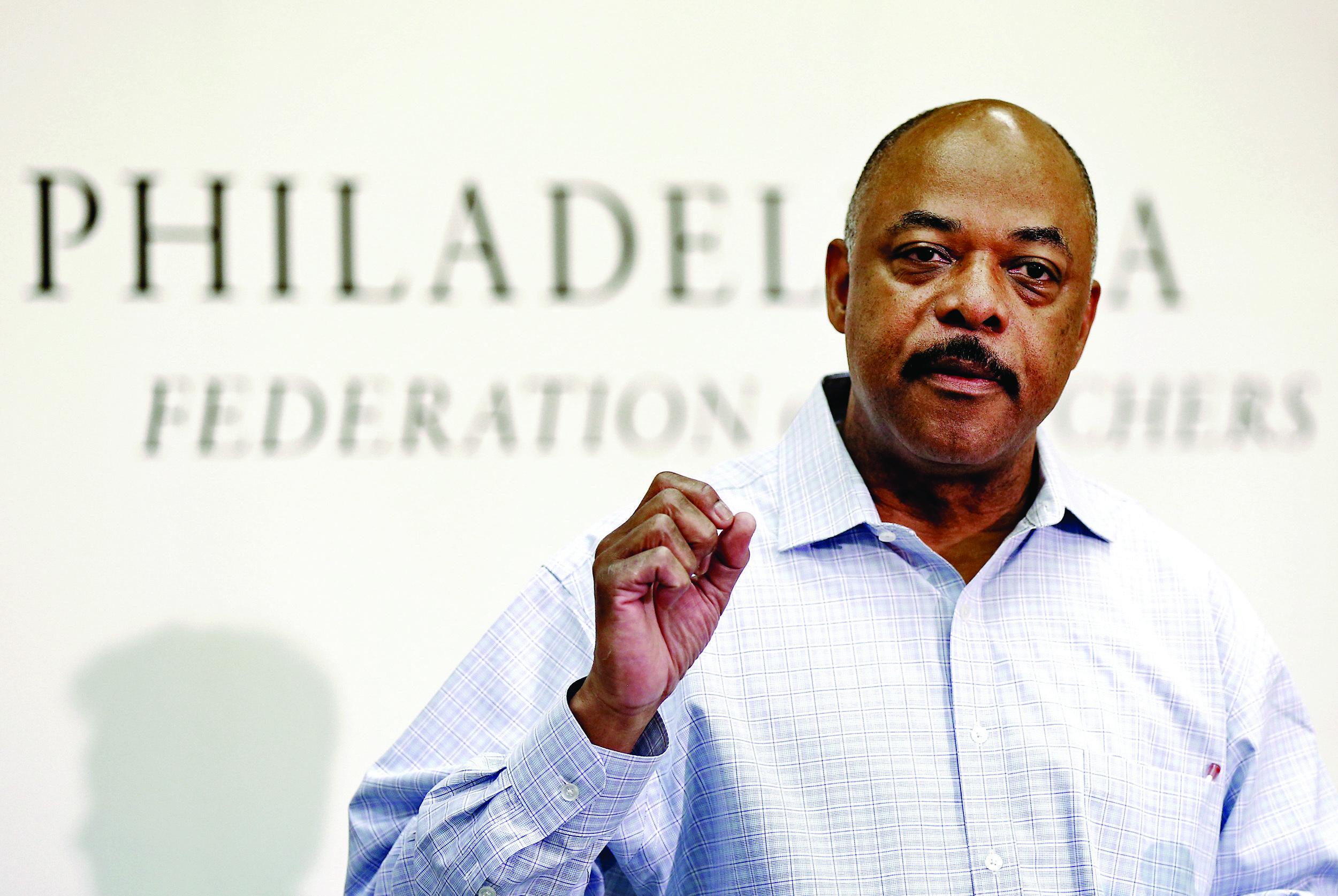 Philadelphia Federation of Teachers president Jerry Jordan opposes having guns in schools.