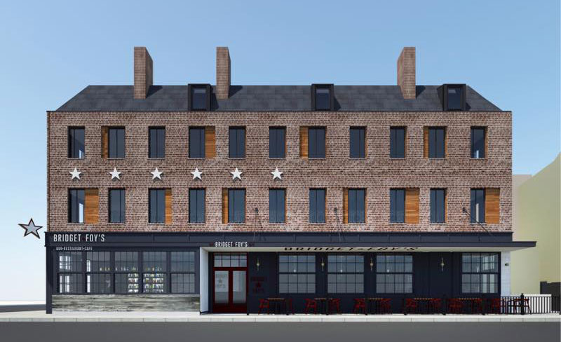 Rendering of new Bridget Foy´s, 200 South St.