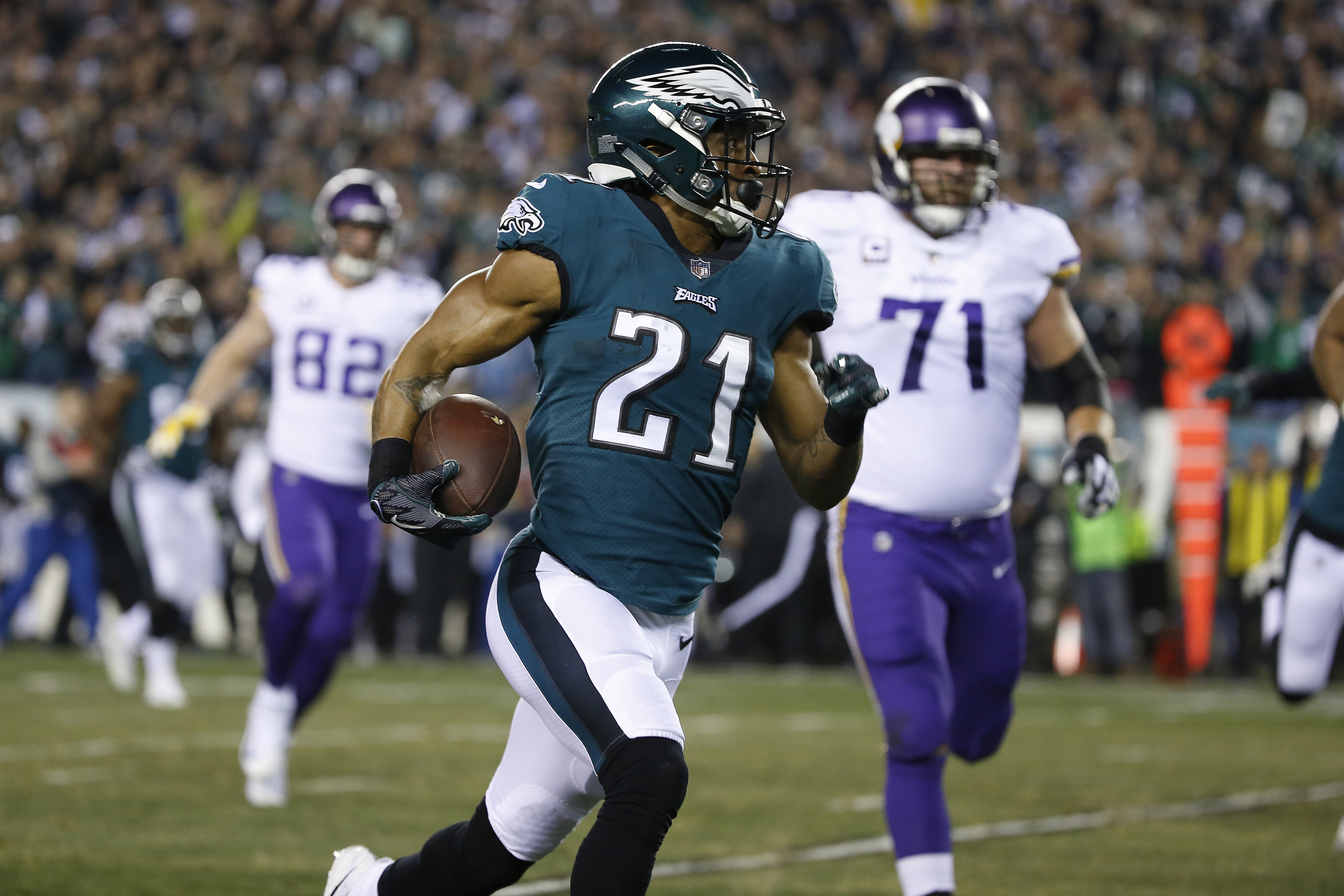 Tough Business: Eagles cornerback Patrick Robinson, who returned an interception for a touchdown in the NFC Championship Game, is likely an odd man out for the Eagles´ plans for 2018.