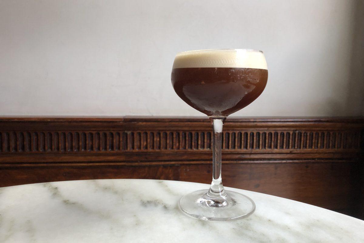 An espressotini at Friday Saturday Sunday.