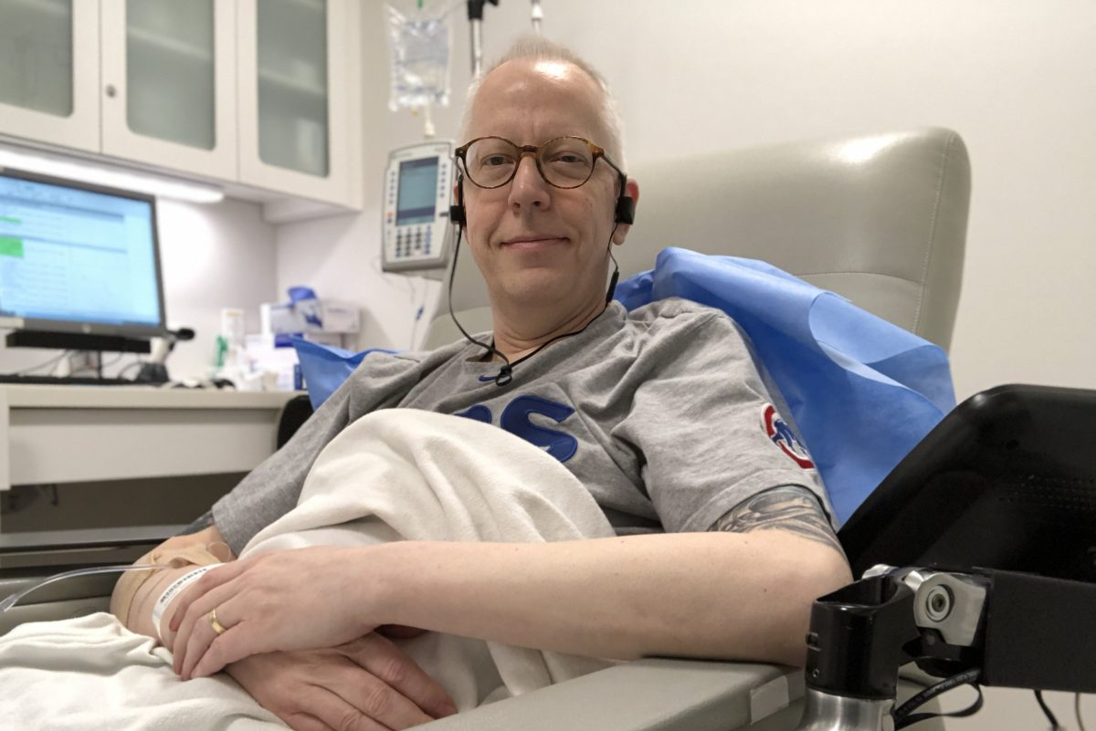 With chemotherapy keeping his incurable oral cancer in check, Michael Becker champions the vaccine that can prevent the disease.