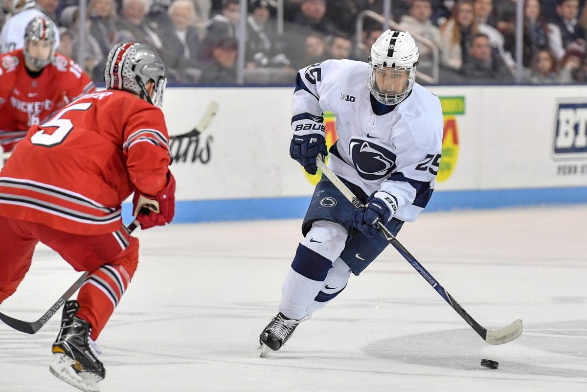 Penn State´s Denis Smirnov (25) in action during a January game against Ohio State.