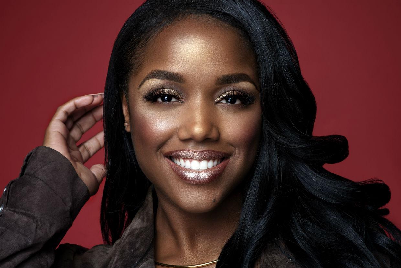 Jacen Bowman´s work on social media influencer Ellarie for the Black Radiance makeup campaign in drug stores now.