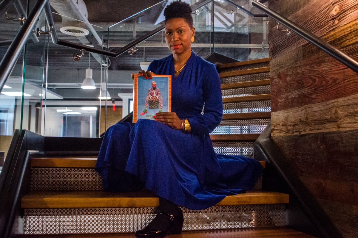 Shantrelle Lewis' new book about dandyism and modern day street style. JOY LEE / Staff Photographer
