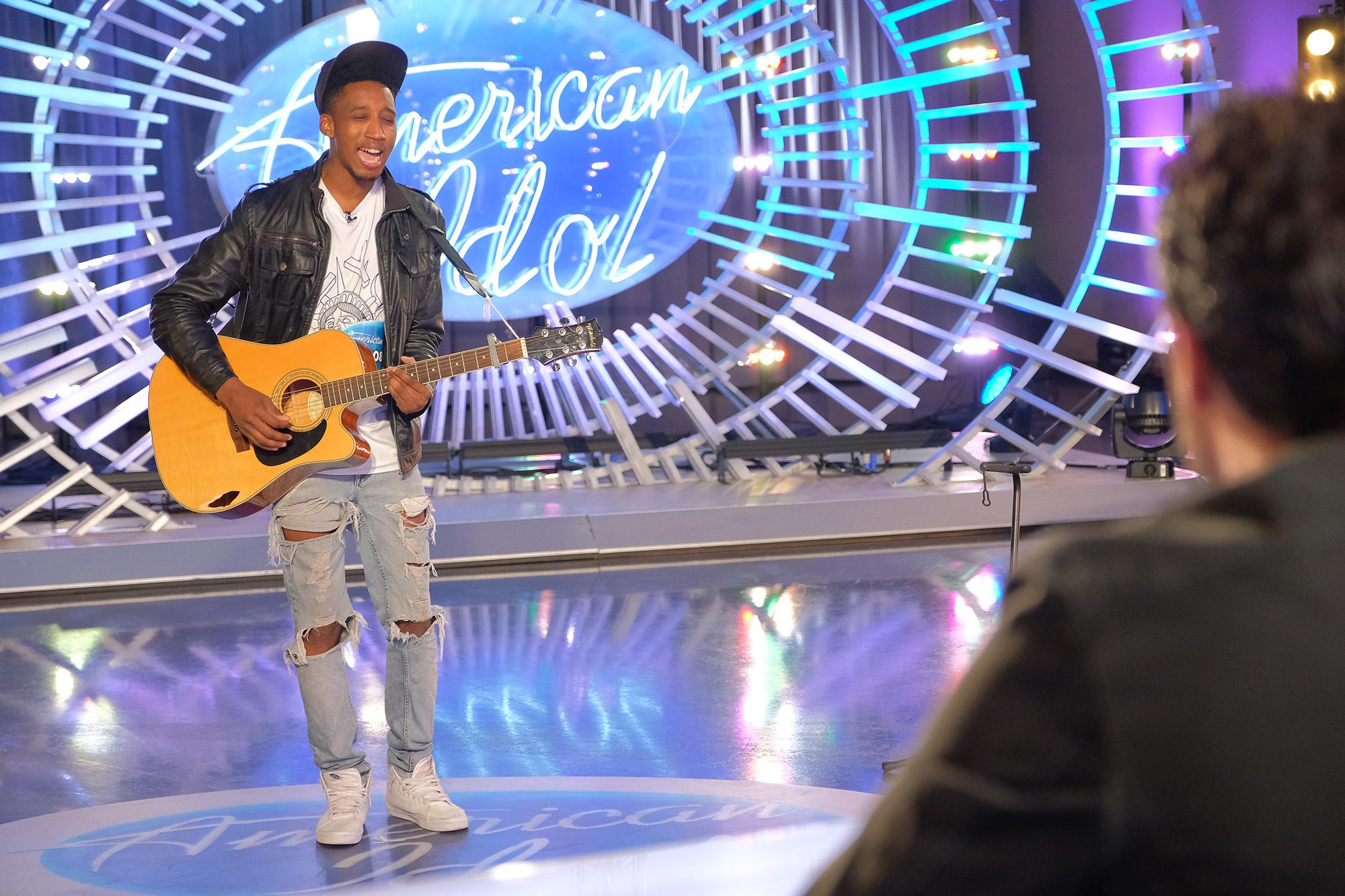 Dennis Lorenzo on American Idol
