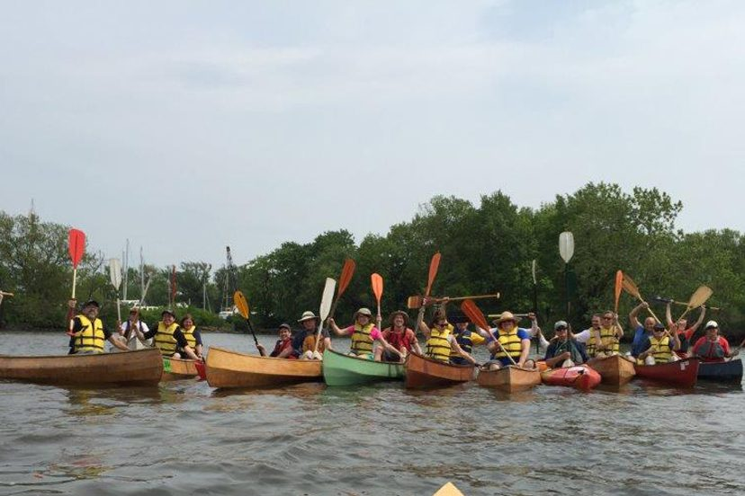"Kids from Camden and other communities went out on the Cooper and Delaware rivers last summer in the ""River Guides' program sponsored by Urban Promise Ministries."