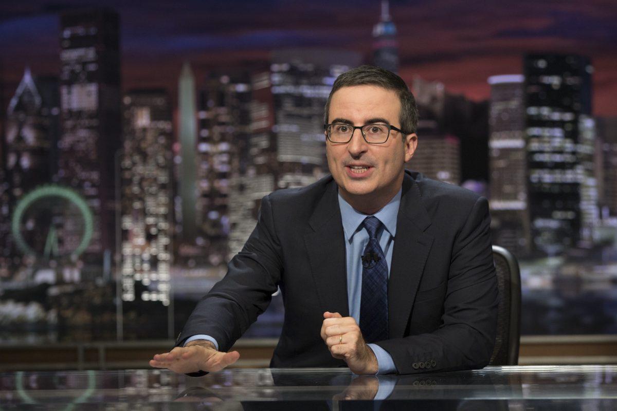 John Oliver slams Fox 29's Mike Jerrick for International Women's Day coverage