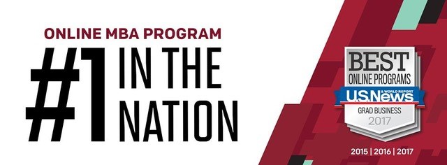 Temple´s Fox School of Business widely advertised the U.S. News; No. 1 ranking for its online MBA program.