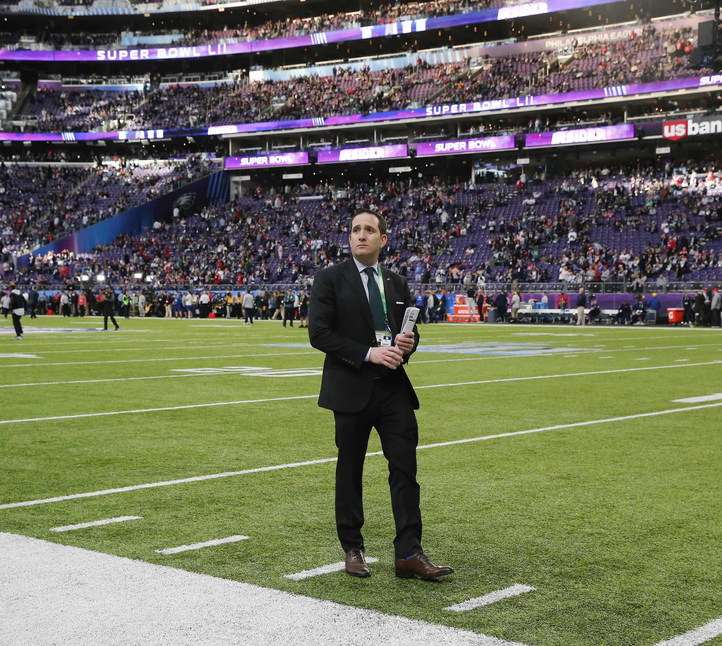 An ahead-of-the-curve approach by Eagles executive vice president Howie Roseman helped the team win its first Super Bowl.