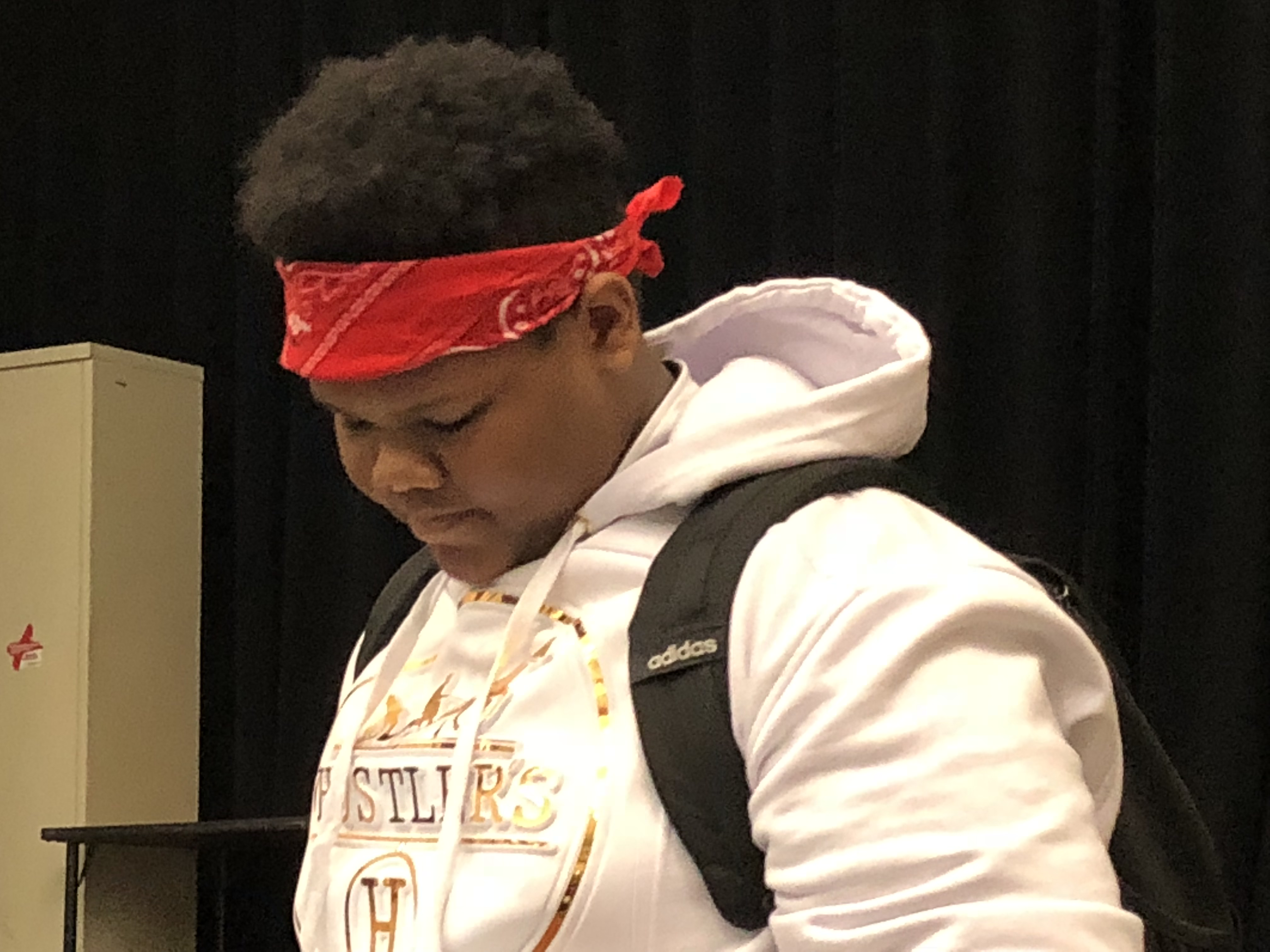 Samir Brown, 14, a ninth grader at Parkway Center City High School wishes the world paid more attention to the daily gun violence in Philadelphia neighborhoods.