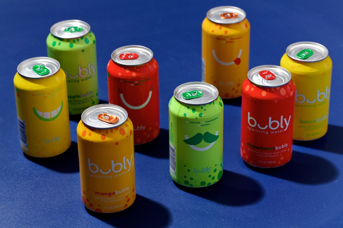 PepsiCo's newly debuted brand of flavored sparkling water aims to make a big splash, with a peppy ad campaign that rolled out during the Oscars. With its colorful cans and cheeky marketing, it is clearly aiming to steal millennials from LaCroix.