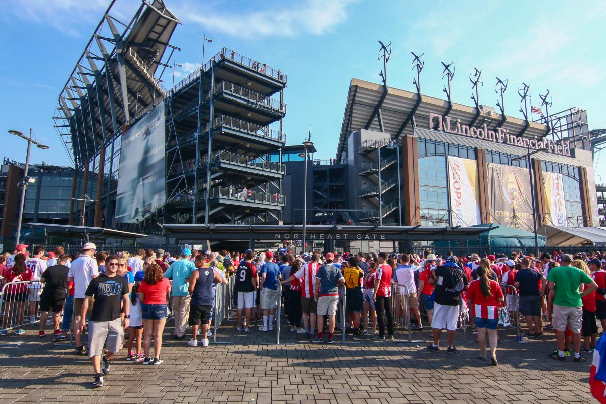 Philadelphia is a finalist to be a host venue of the 2026 FIFA World Cup. Games would be played at Lincoln Financial Field.