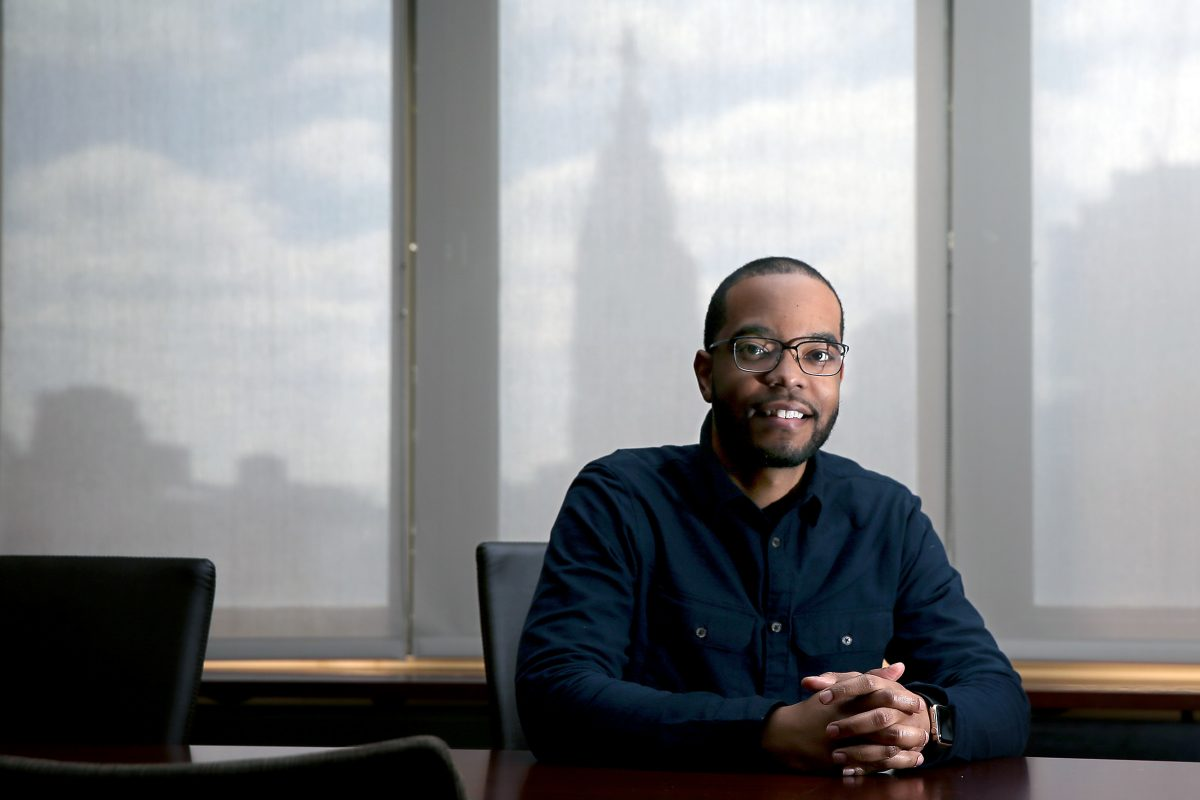 Dexter C. Graves, a fourth year medical student, started the Black Doctors Network at Drexel, along with his classmate Bisola Egbe. Graves talks about his experience at Drexel's  College of Medicine in Philadelphia DAVID MAIALETTI / Staff Photographer