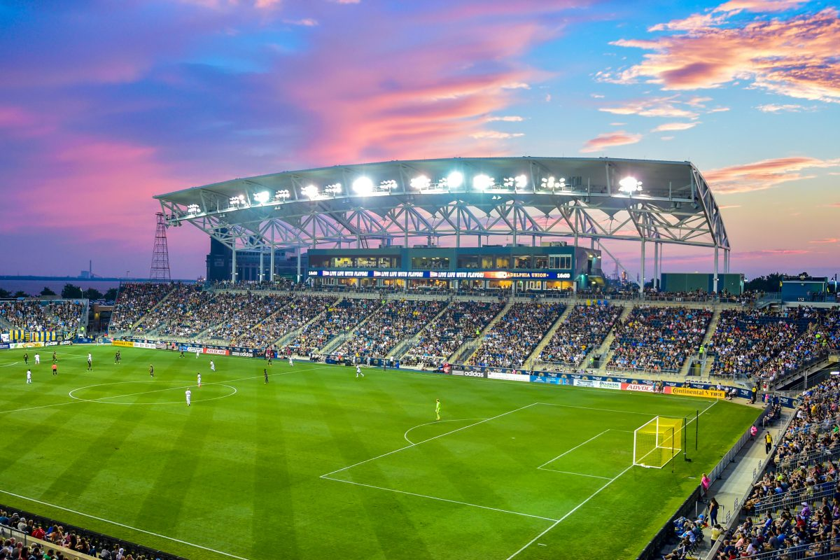 Talen Energy Stadium, the home of the Philadelphia Union.