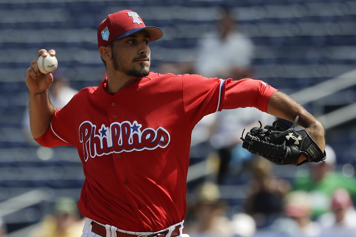 Might Zach Eflin replace injured Jerad Eickhoff in the Phillies rotation?