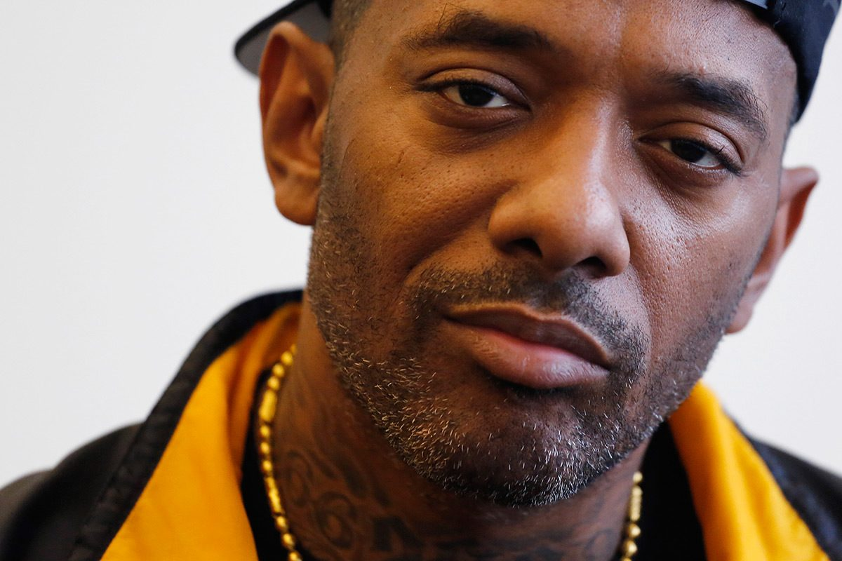 Mobb Deep's Prodigy poses for a photo last year.