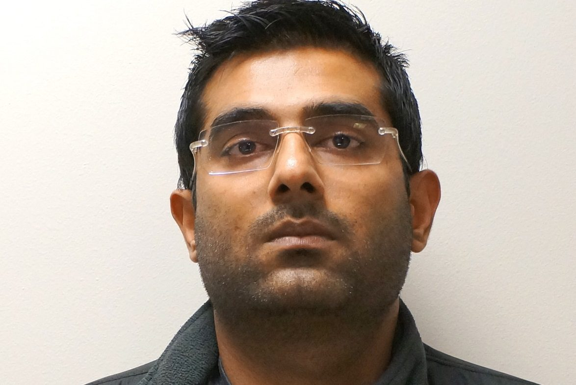 Amish Patel, 29, was charged with first-degree aggravated manslaughter for the deaths of a married couple in a January car crash.