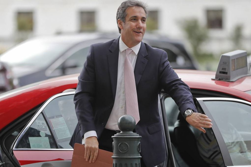 Michael Cohen, lawyer for President Trump