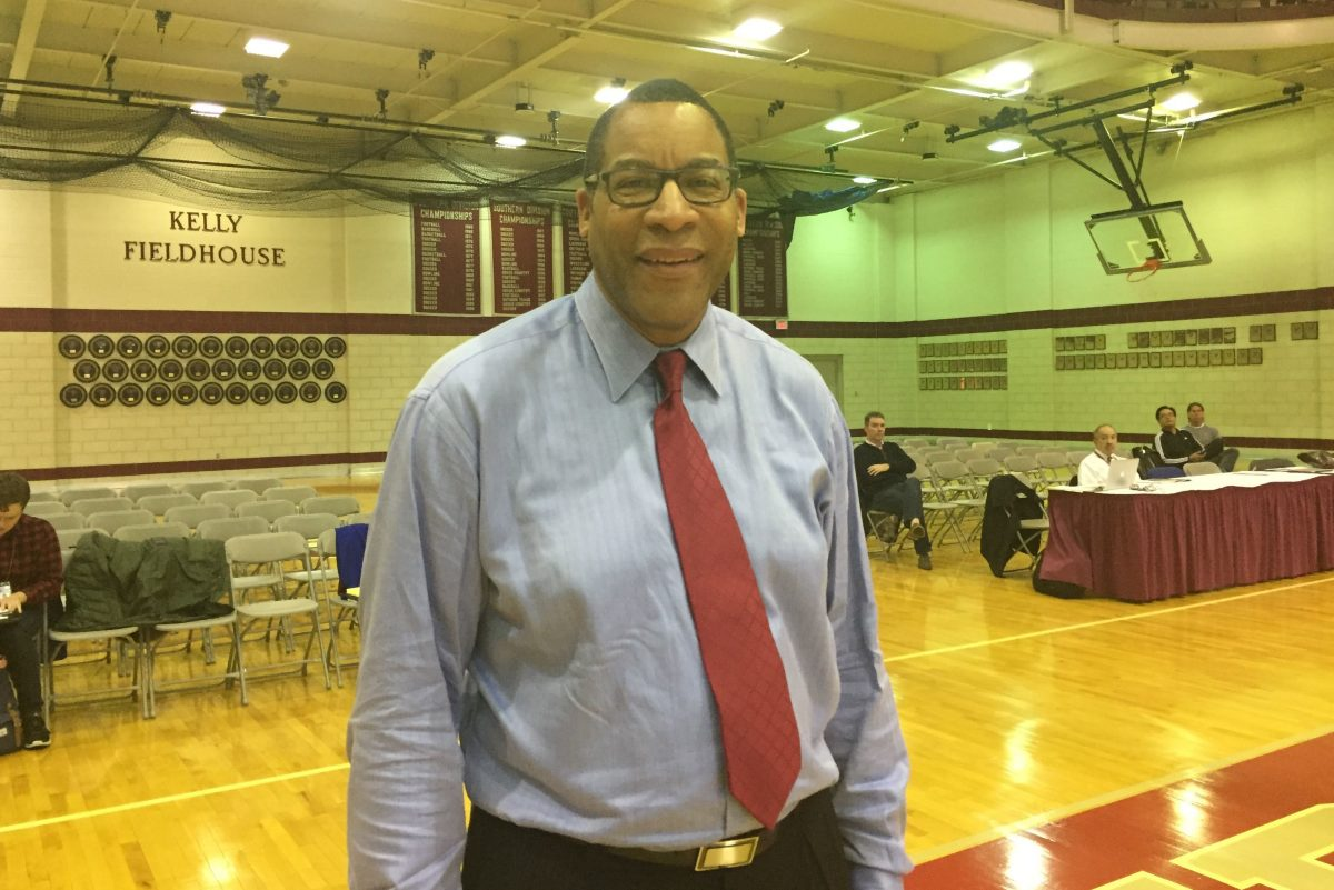 St. Joseph's Prep assistant basketball coach and former UMBC head coach Randy Monroe.