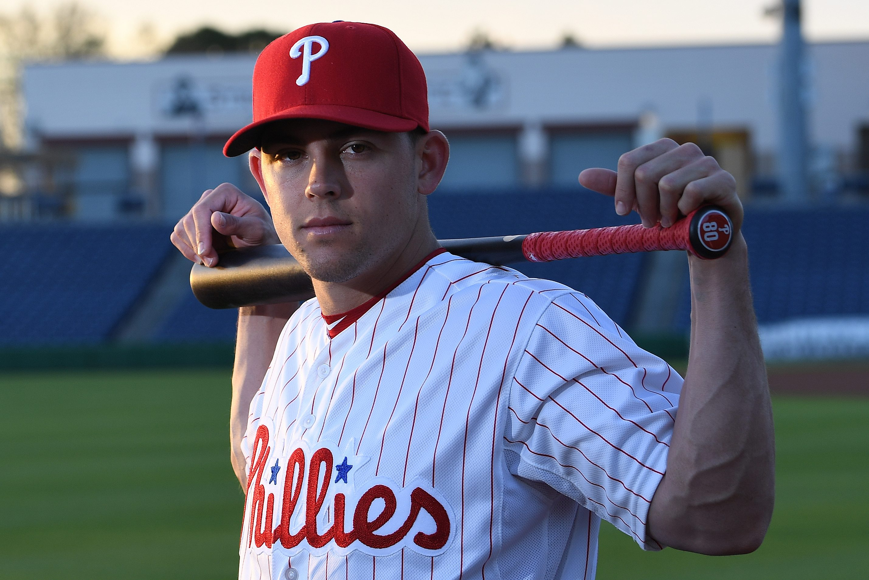 Scott Kingery is going to start the season at Triple-A ... and he´s OK with that. (Though the veins in his left arm suggest otherwise.)