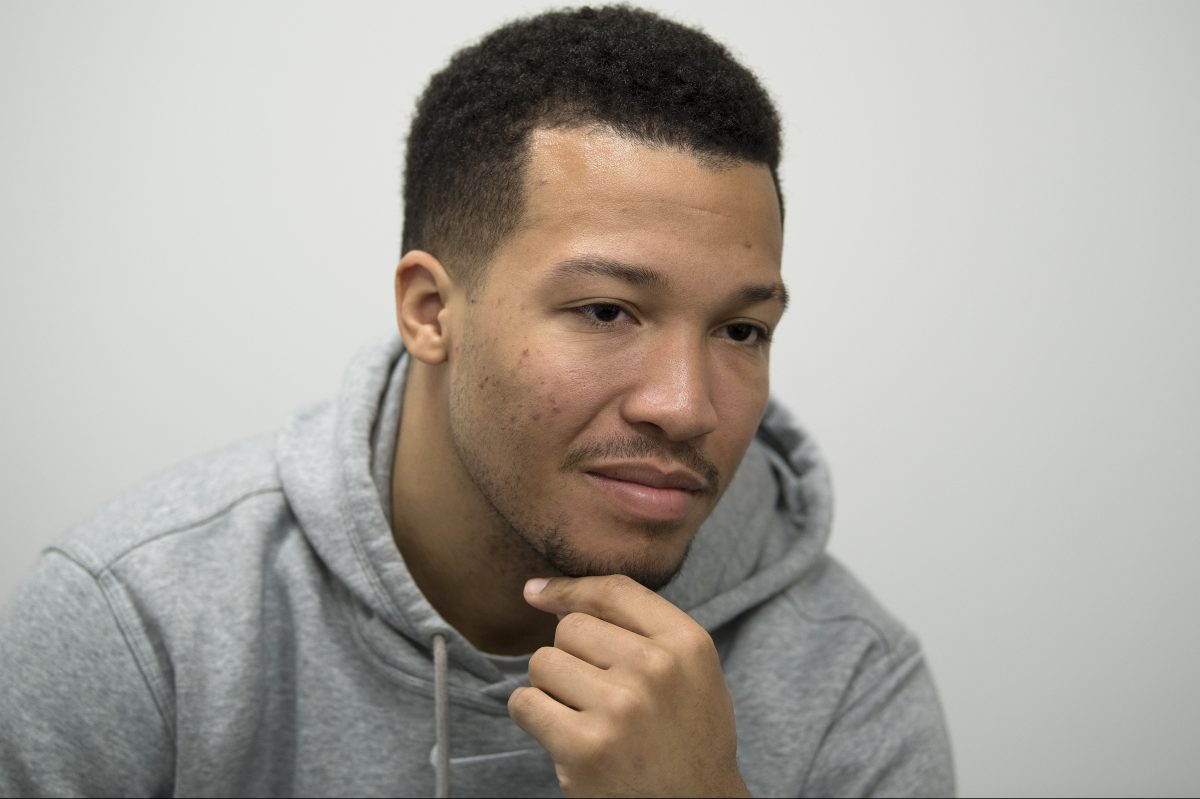 Villanova Wildcats men's basketball point guard, Jalen Brunson.  JOSE F. MORENO / Staff Photographer