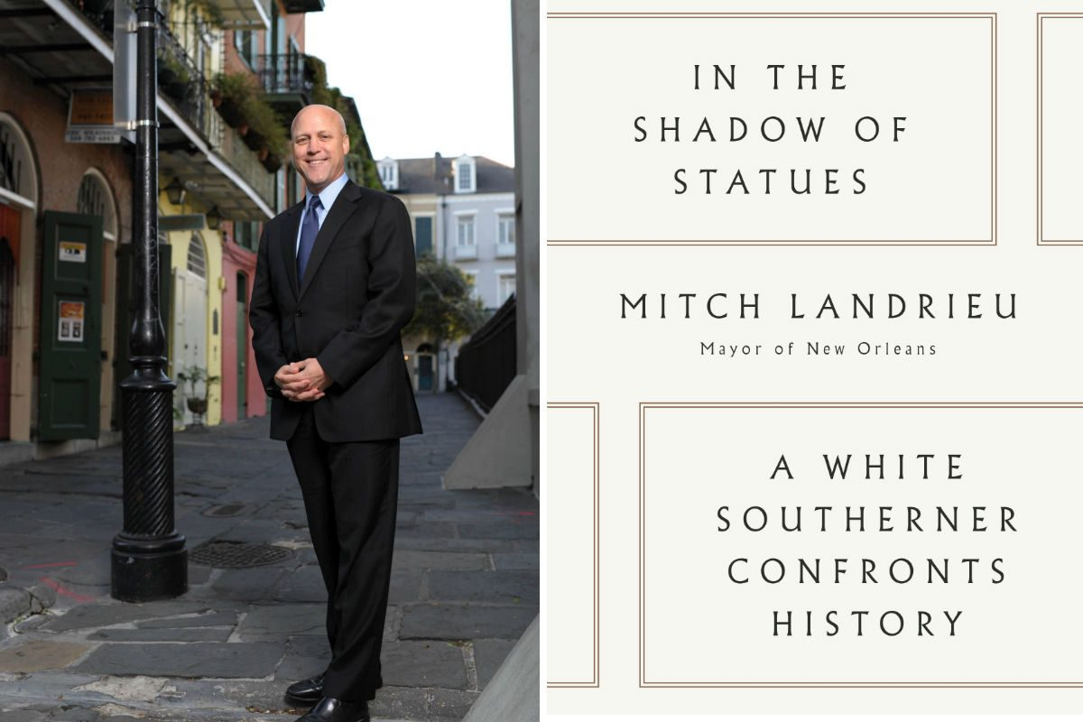 Mitch Landrieu, mayor of New Orleans, comes to the Free Library on Wednesday.