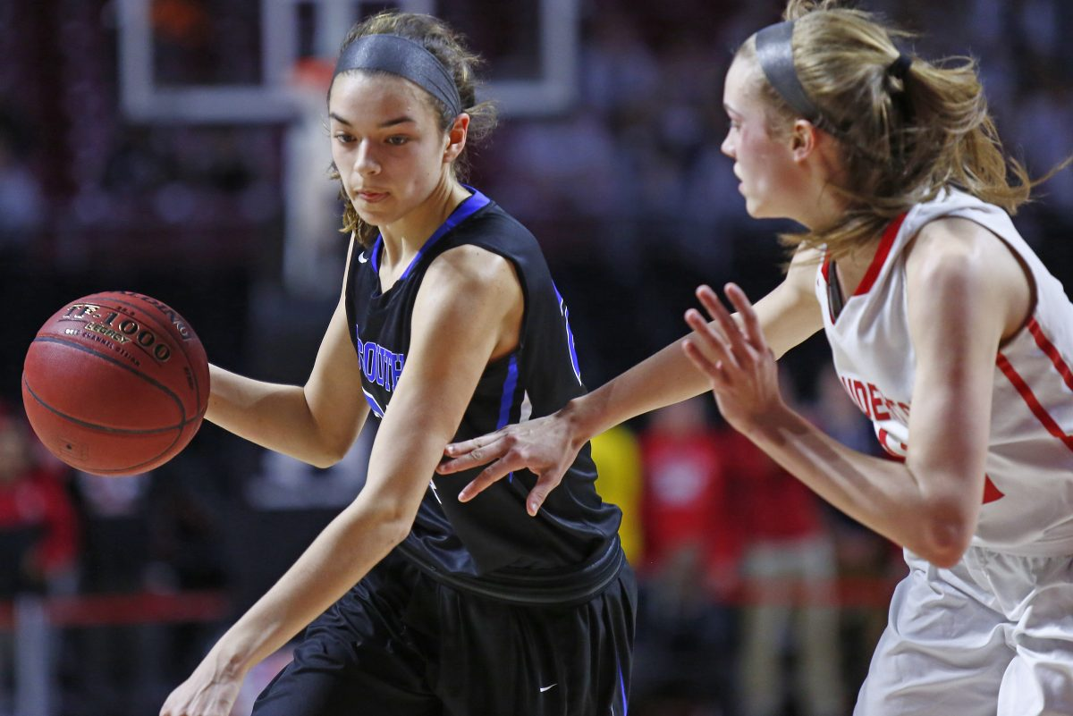 Haley Meinel, left, and Central Bucks South will take on Upper Dublin  for the PIAA Class 6A title at 6 p.m. Tuesday in Hershey.