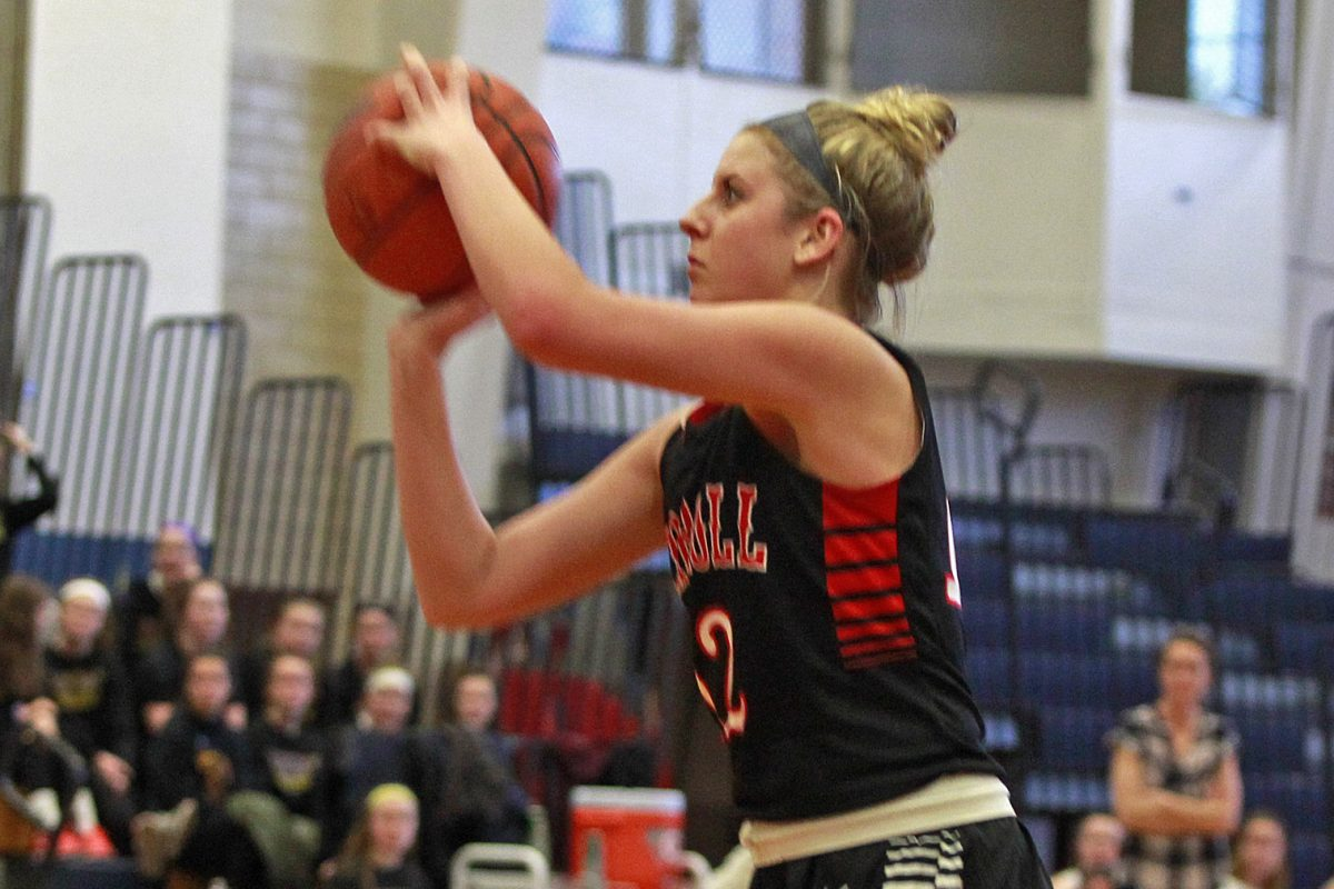 Archbishop Carroll's Molly Masciantonio is averaging 16.3 points per game and has made 61 three-pointers.