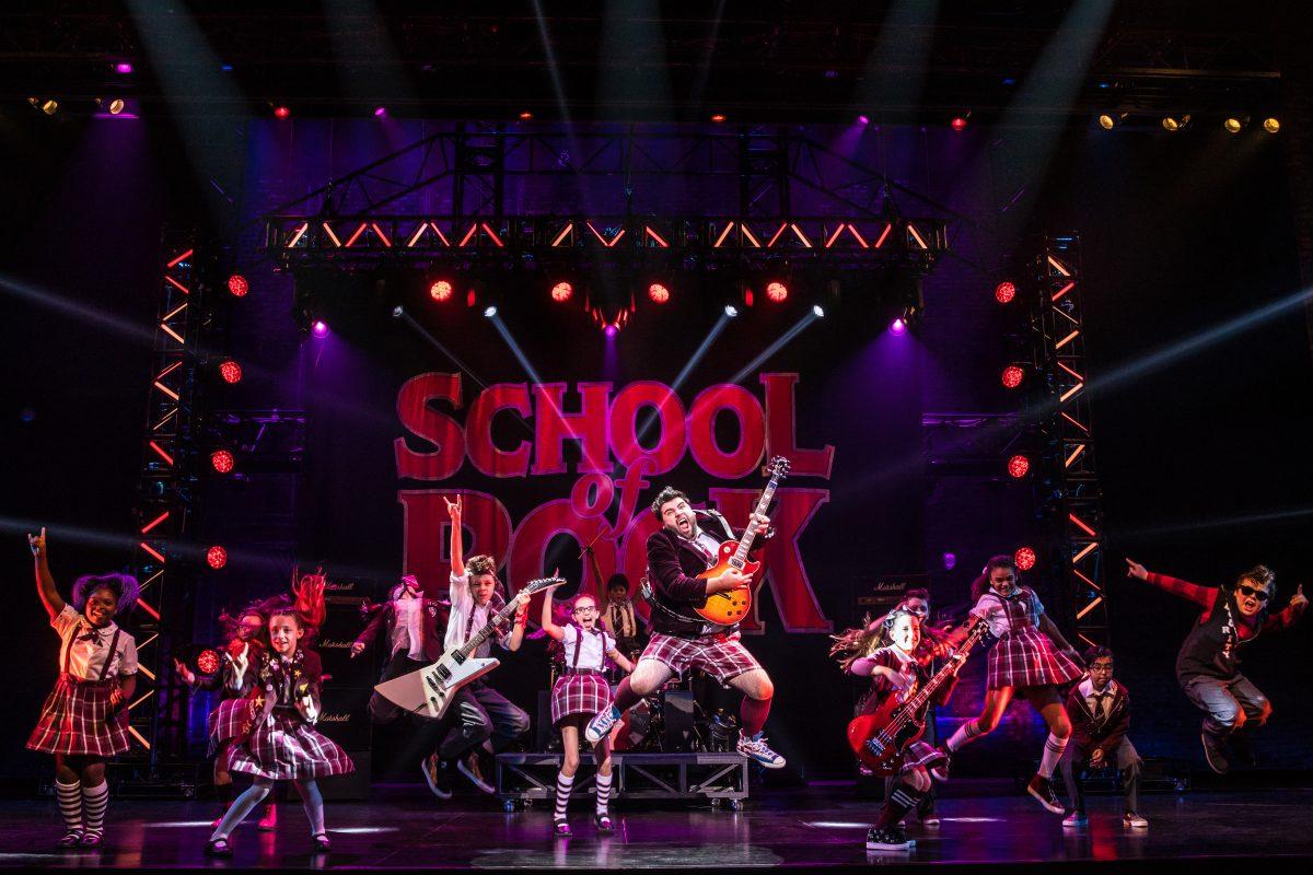 """School of Rock"" at the Kimmel Center."