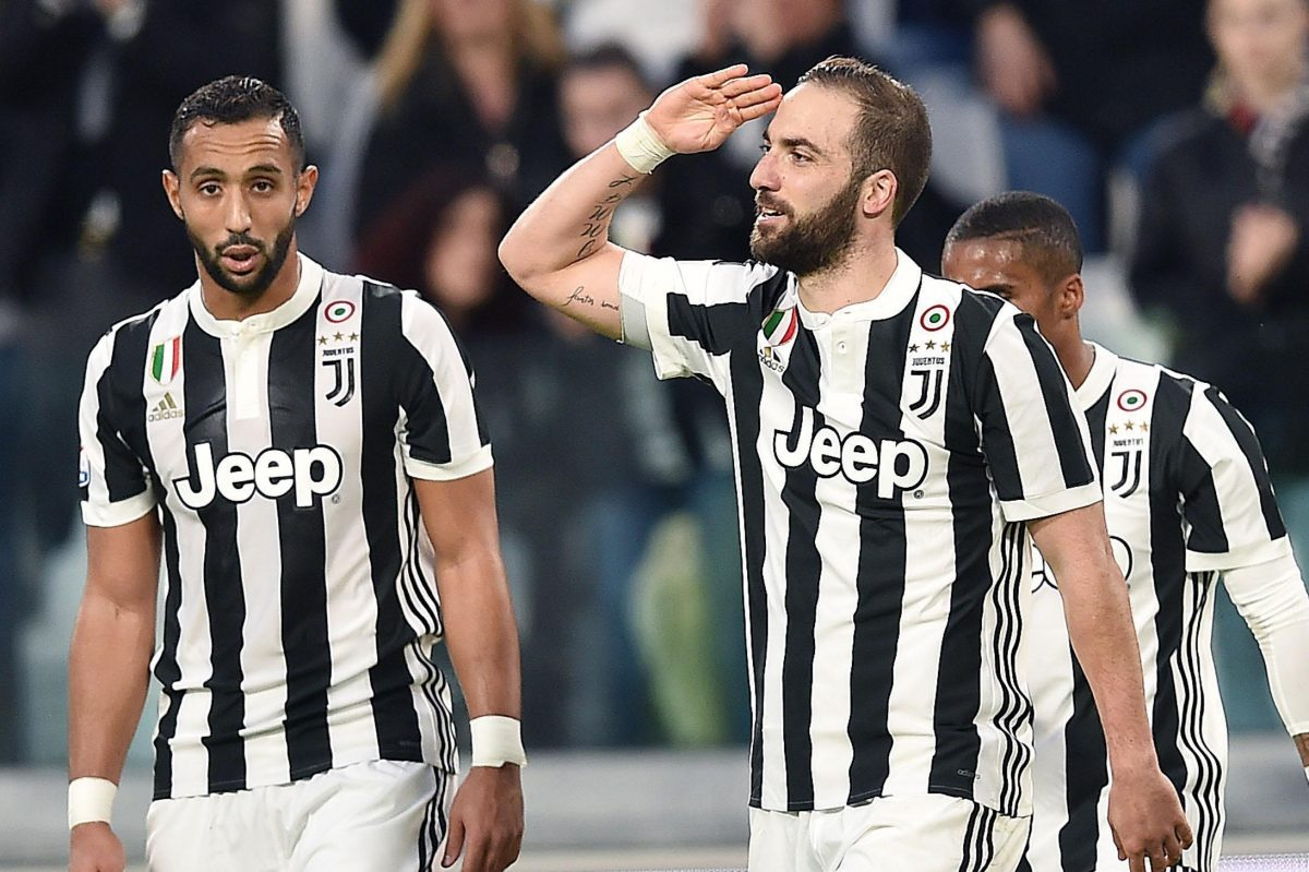 Led by forward Gonzalo Higuain (right), Juventus is Italy´s most successful club with 33 league championships.
