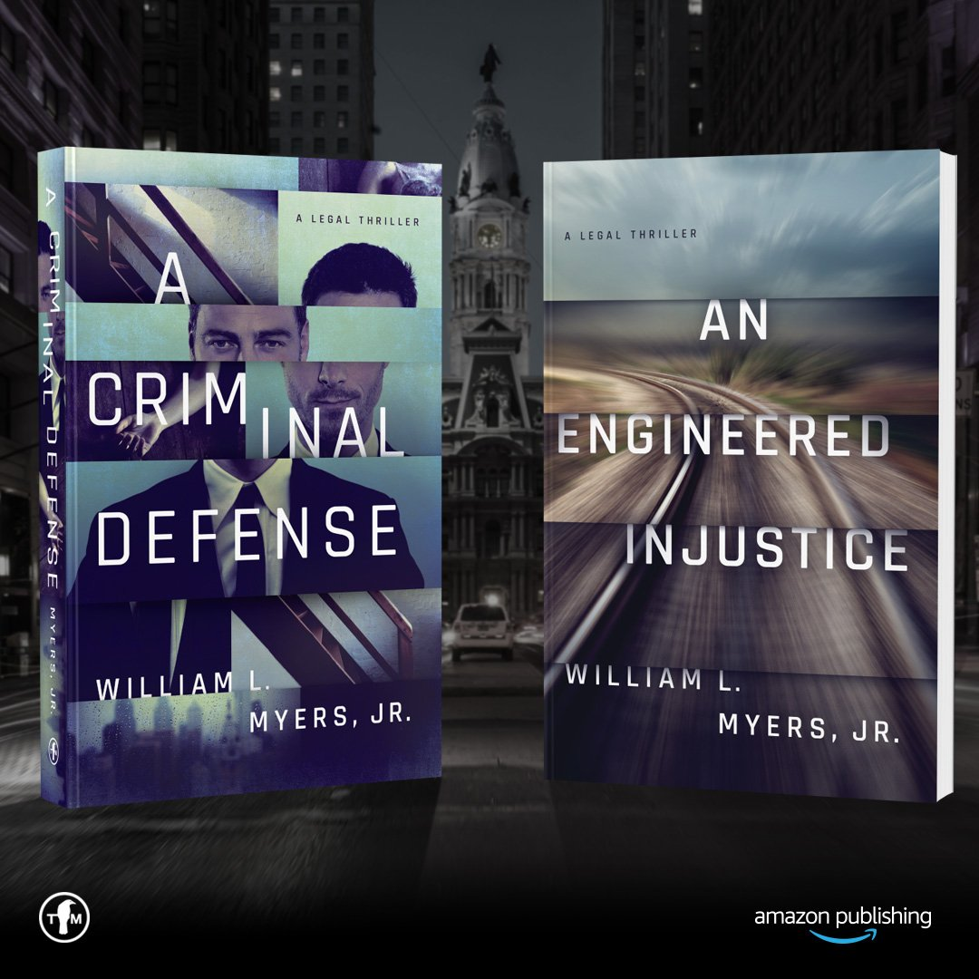 "William L. Myers, a Philadelphia attorney, has written two legal thrillers, ""A Criminal Defense"" and ""An Engineered Injustice."""