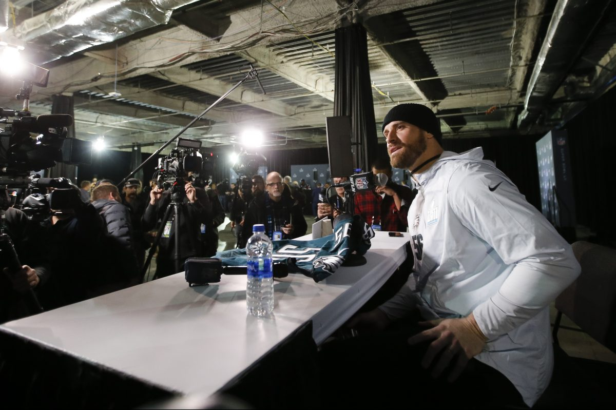 Chris Long seems to be leaning toward trying to get back to the Super Bowl with the Eagles
