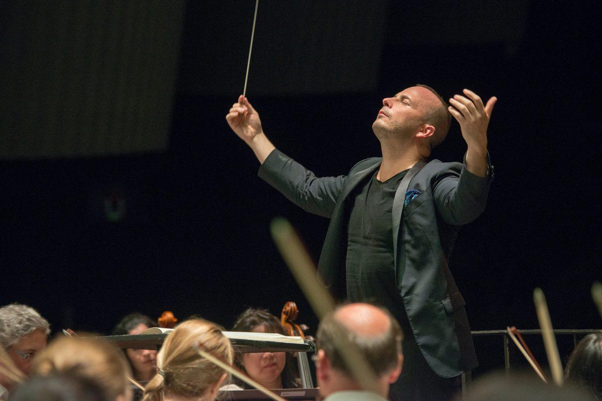 Yannick Nezet Seguin at Saratoga Performing Arts Center